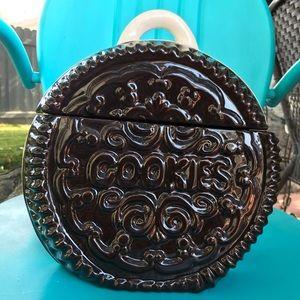 Vintage Oreo Cookie Jar Nabisco Hydrox